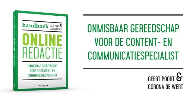 Boekomslag Handboek Online Redactie